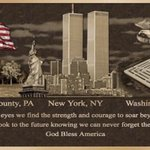 Image for the Tweet beginning: Never Forget. 9-11-2001.