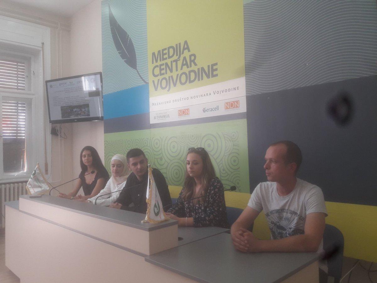 test Twitter Media - #SaveOurWater konferencija za medije o znacaju ucesca mladih u zastiti vodnih resursa @FondacijaTempus @EUErasmusPlus #youth #water https://t.co/8lrSVALOsu