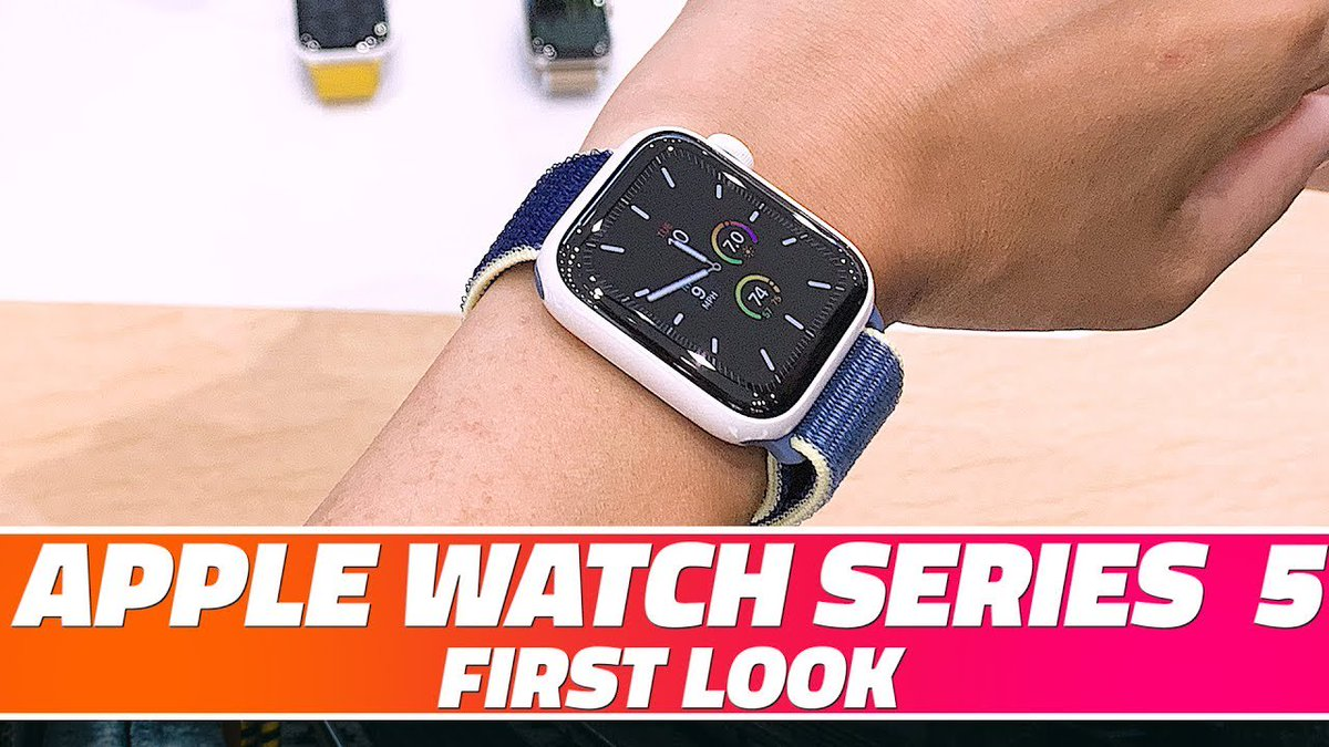 Apple Watch Series 5 First Look: The Popular Smartwatch Gets Even Better