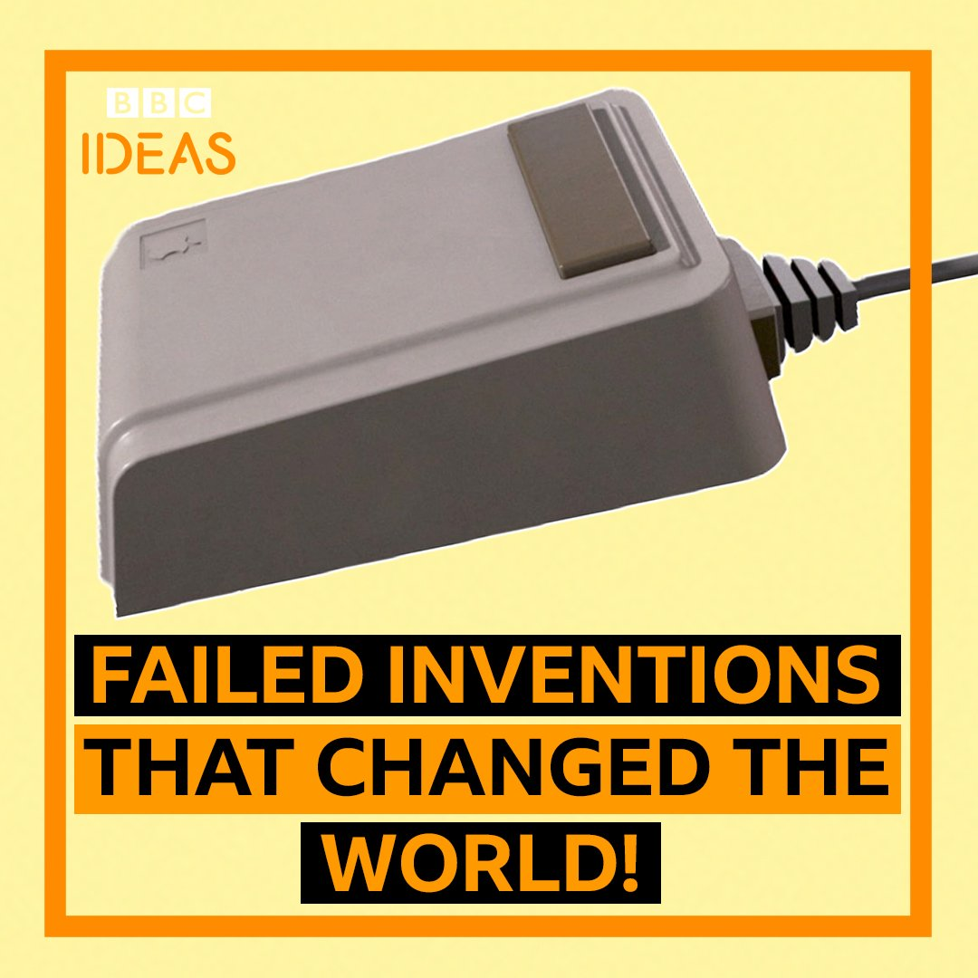 Here are four failed inventions that changed the world... proving there's hope for all of us!#MondayMotivation