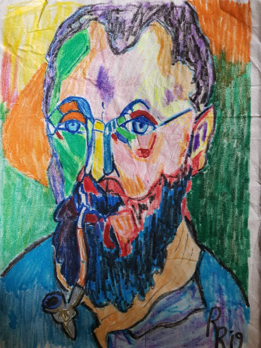 Matisse portrait bag done ❤❤