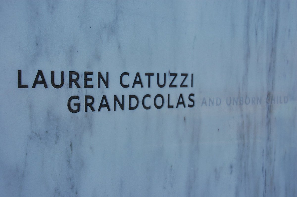 "When Mollie and I visited the Flight 93 memorial, it was the ""and unborn child"" next to Lauren Grandcolas' name that really took the wind out of me."