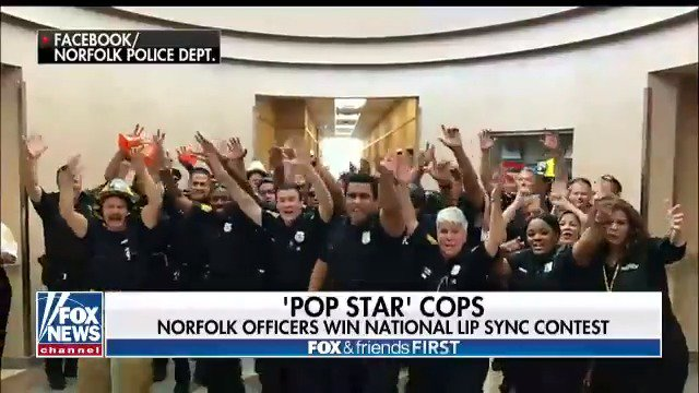 UPTOWN FUNK: The Norfolk Police Department is going viral for winning a national lip syncing contest!