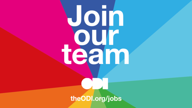 2/2 Were #hiring for two #jobs! Job #2: We are looking for an Interim Data Institutions Programme Lead to join the @ODIHQ team and work across ODI's projects and programmes. You will lead our programme of work on data trusts. Apply here: hubs.ly/H0kJfsM0