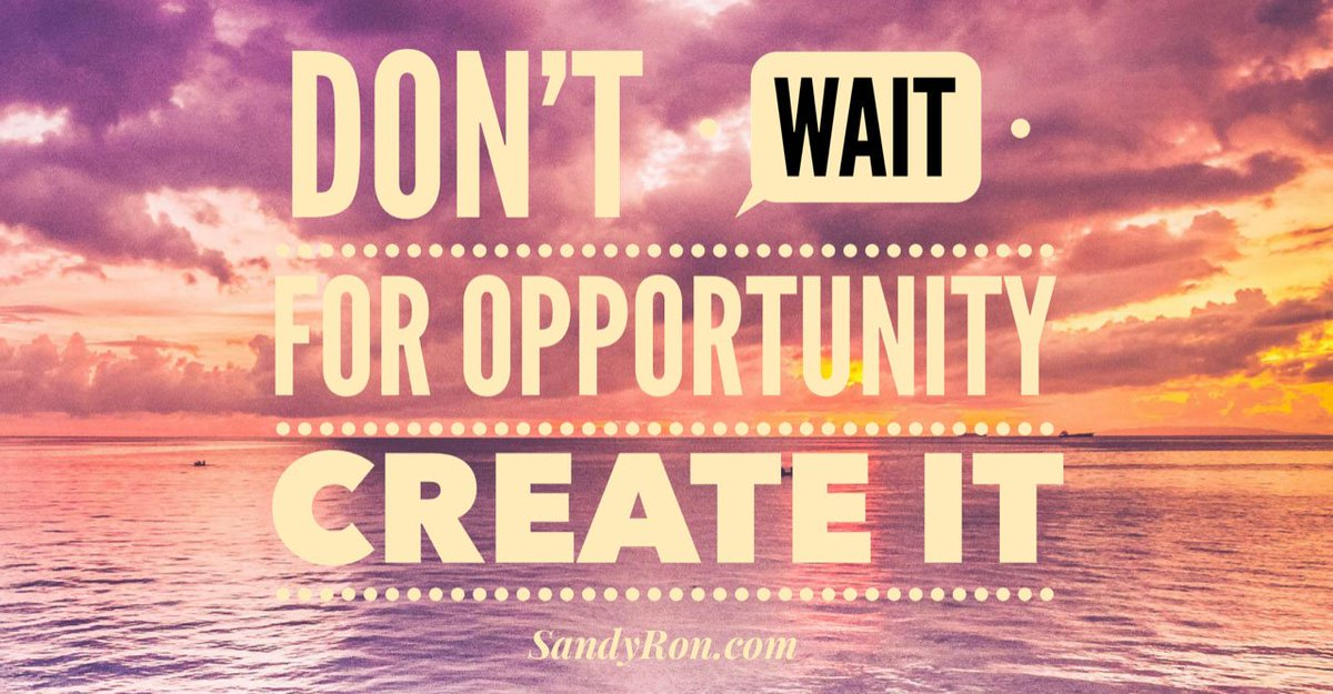 Don't wait for opportunity.  Create it.  #bemyownboss #motivationalquotesandsayings #getleads<br>http://pic.twitter.com/NGBCDwc5Wk