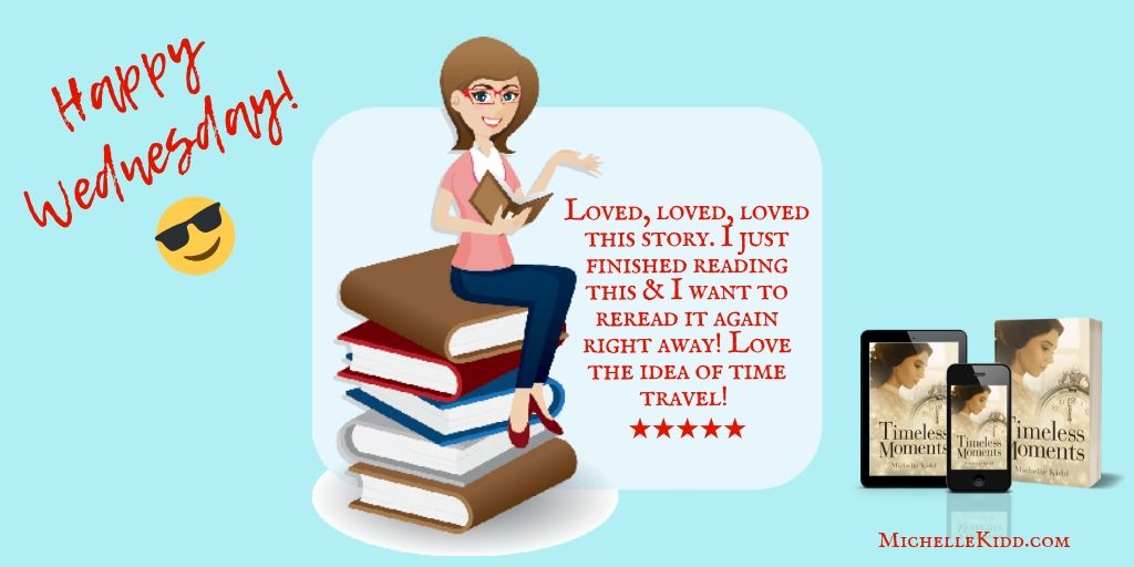Enjoy your #Wednesday!  #Kindle #KU #Paperback #Audible #Clean #timetravel #CR4U  #histfic #IARTG  #WednesdayMotivation #wednesdaymorning  #womensfiction<br>http://pic.twitter.com/3ciVAF2MkA