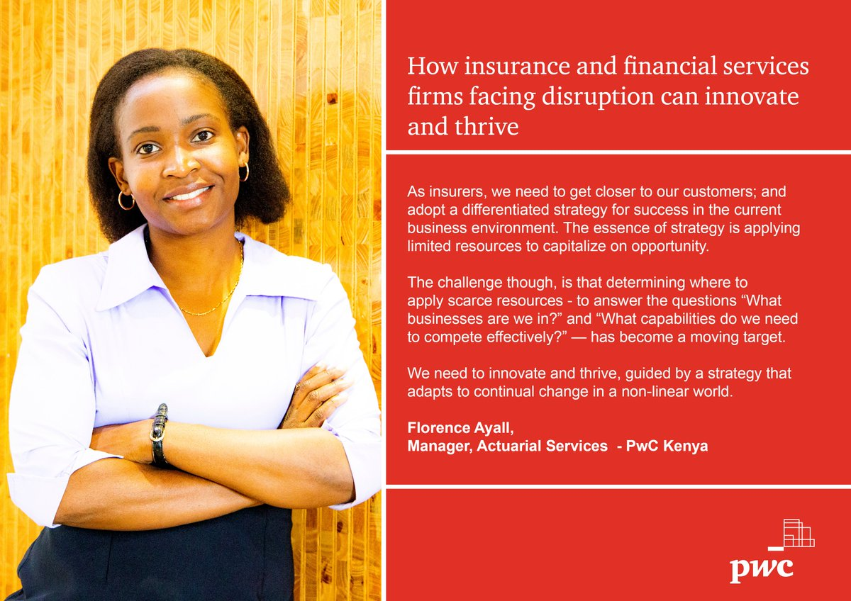 Pwc Kenya On Twitter Our Economy Increasingly Presents Insurance