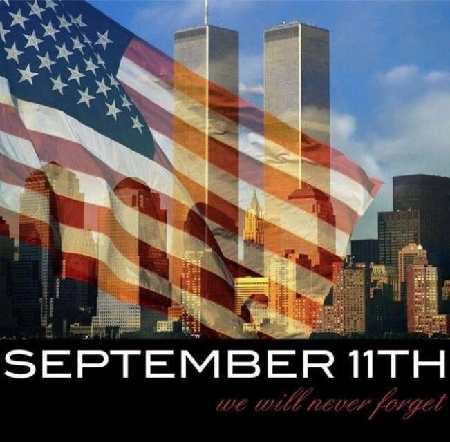 WE WILL NEVER FORGET  #11Septiembre2001 #11sep <br>http://pic.twitter.com/56WbaanCmZ