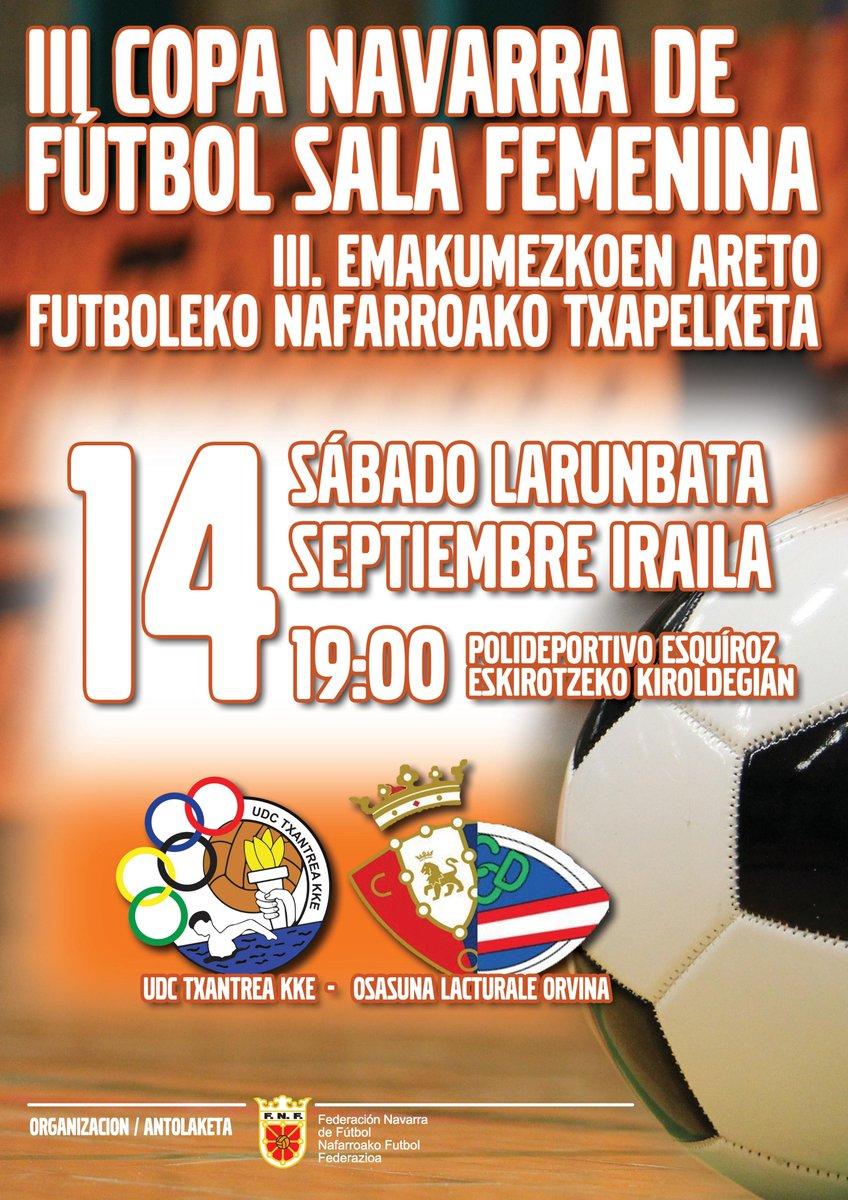 Desde La Banda - Fútbol Navarro | III Copa Navarra de Fútbol Sala Femenina.