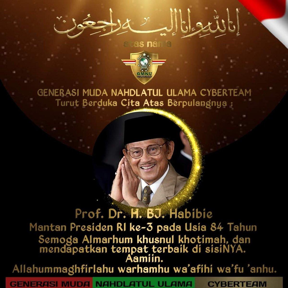 INDONESIA BERDUKA ------------------------------------ Innalillahi wa innailaihi roji'un https://t.co/vmfKa0U2EL