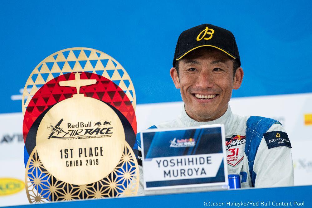 【出演情報:New!! 】 9/12(木)AM4:55~ テレビ朝日「グッド!モーニング」 tv-asahi.co.jp/goodmorning/ 7:30頃に放送される予定です。是非ご覧ください!! ※急遽変更になる可能性があります #airrace #YoshiMuroya #FALKEN #Breitling #LEXUS #RedBull