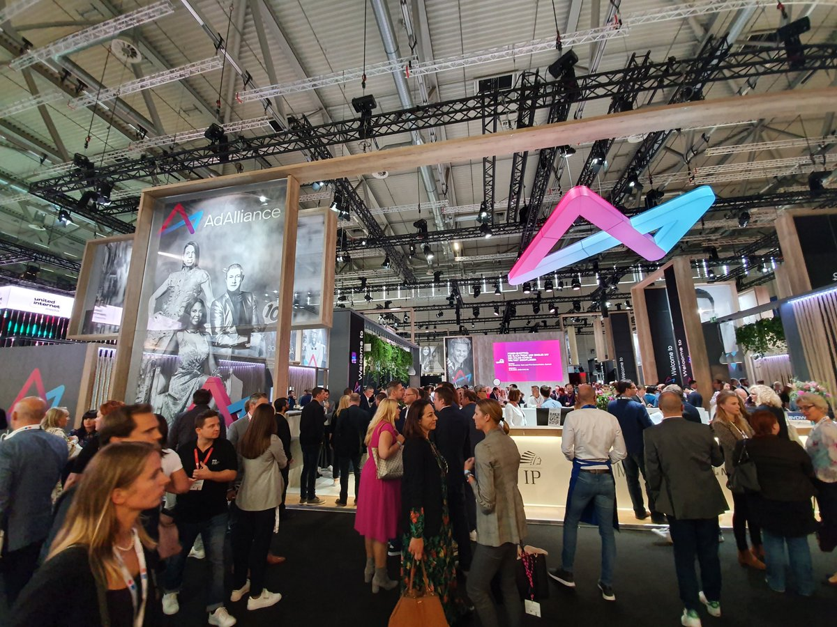 Great to see the Germans taking things setiously and properly investing in their alliances. AdAlliance's stand is one of the largest here. #DMEXCO19 <br>http://pic.twitter.com/ZwXB5SJvuo