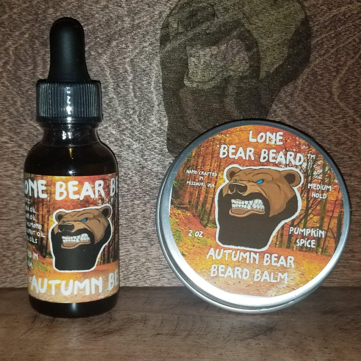 Our Autumn Bear #PumpkinSpice scent is live on our website. #LoneBearBeard #LiveBearded #Beard #Beardos #NoShaveEver #BeAMan #WomenLoveIt #BeardedLife #nicebeard #beardfamily #familybeards #merica #fall #beardoil #BeardGang #beardbalm #beardset #bearded #beardedmanpic.twitter.com/1ZrSC5F1mA