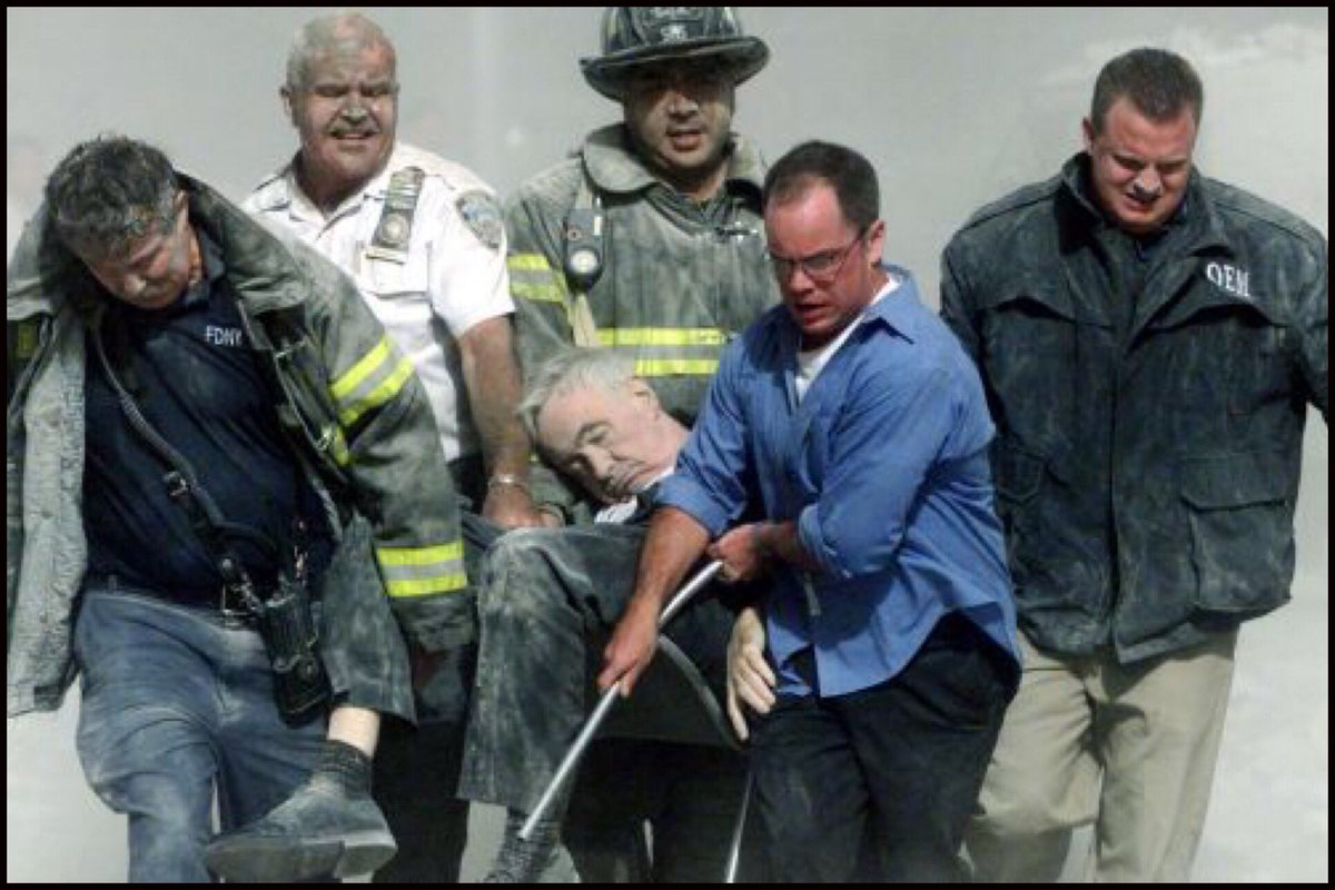 On this anniversary of #Sept11  may the sacrifice and witness of Fr. Mychal Judge inspire us, as we experience the slow-motion collapse of the world around us. <br>http://pic.twitter.com/40kooHfYGc
