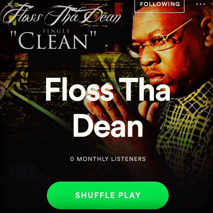 "YAE MUZIK on Twitter: ""Clean"" x Big Deanie x @spotify  #allstreamingplatforms  #IndieSpeaks #IndieNation #Blogs #Indie #indieartist #music #newmusic  #rap #hiphop #hiphopartist  #media #dj #newartist #songwriter #independentartist #soundcloud #rapper #singer #unsign #bigdeanie #macwoodmemphis #clean…"