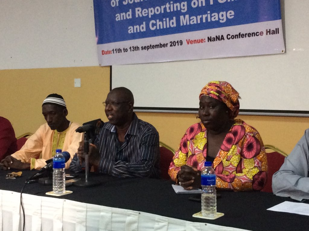 """Women's Bureau-Gambia on Twitter: """"The #Media is the fourth estate of the #State... thus it's role in national development cannot be over emphasised"""" #MrSambaFaal Lecturer @UTG School of Journalism.…"""