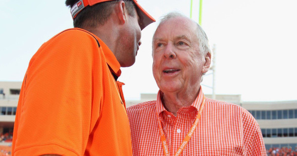 RIP T. Boone Pickens.   May 22nd, 1928 - Sept. 11th 2019 pic.twitter.com/YibuLqGkzr