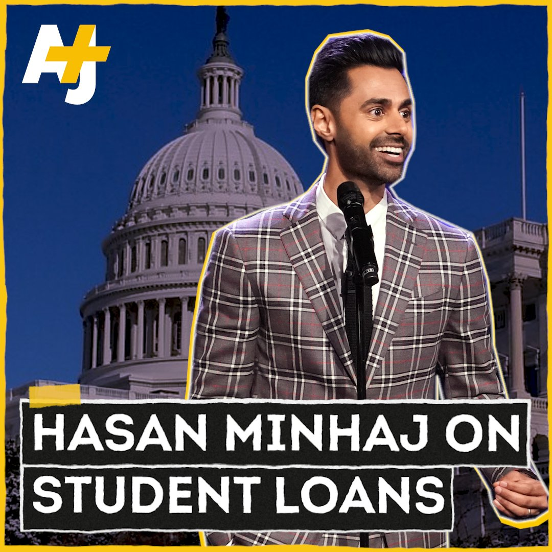 RT @ajplus: Listen to @HasanMinhaj tell Congress about the problematic student loan crisis. https://t.co/hWydYqQmr2
