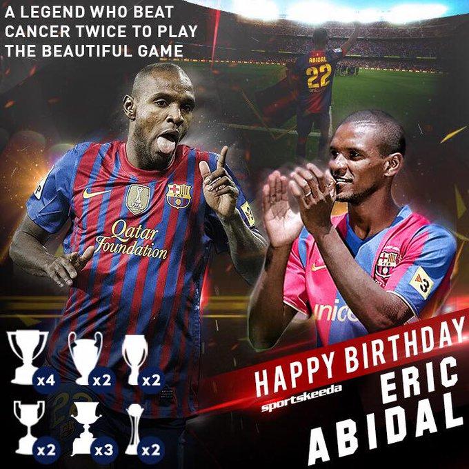 Happy Birthday Eric Abidal.