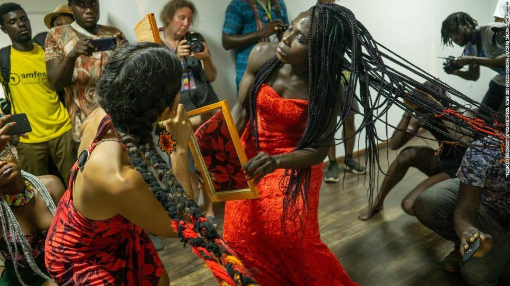 Accra's Chale Wote Art Festival, West Africa's largest street art and performance art festival, has grown from a small local event to a global platform attracting an audience of about 50,000 people. https://ift.tt/2Q71OKT