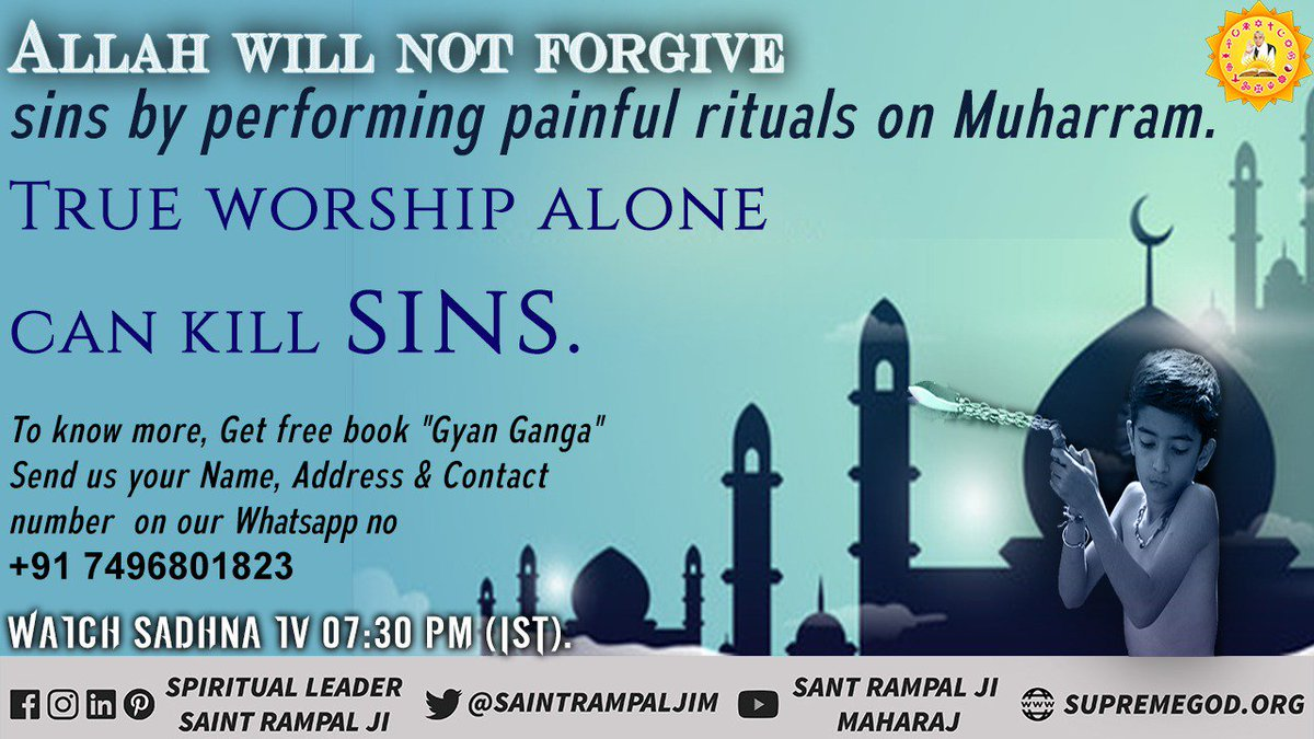 #WednesdayThoughts  Alah can't forgive all sins..  Know real way <br>http://pic.twitter.com/mydbxlHA4H
