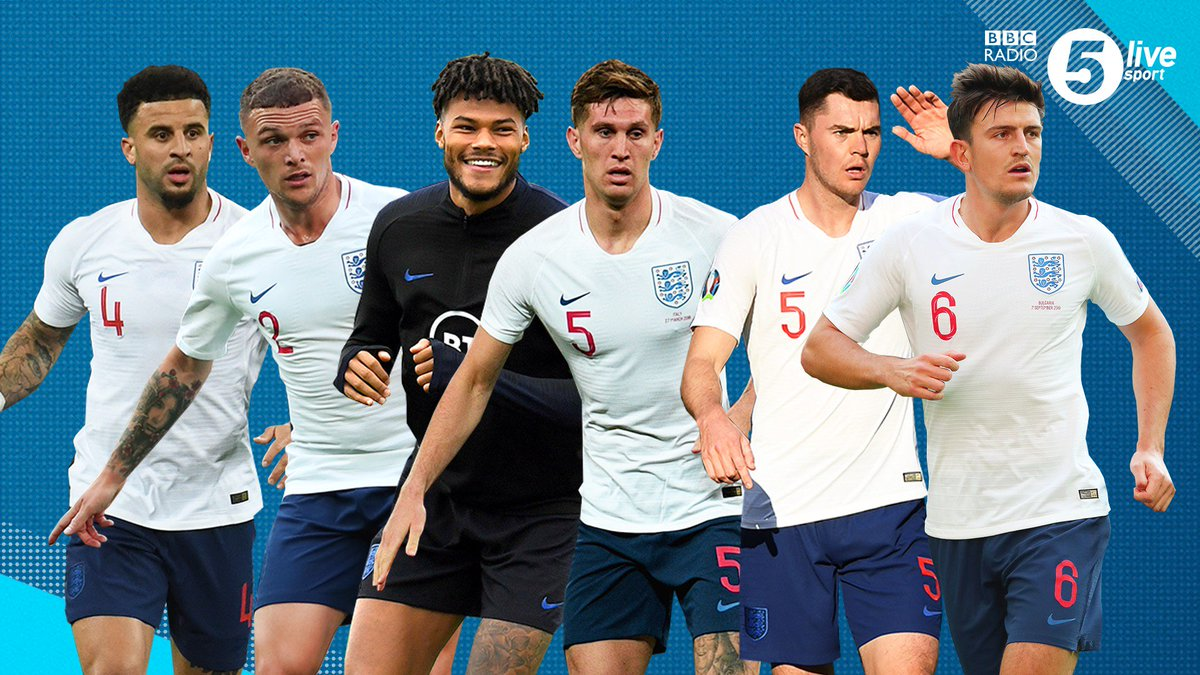 📢 Debate time: Who should be playing in defence for England?🗣️@donhutch4, @JBurtTelegraph and Matt Upson have their sayComment below with your thoughts 👇Listen live 👇📲⚽️: http://bbc.in/2AhzsDX#bbcfootball