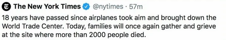 'Some airplanes maybe did something' The obtuseness of the @nytimes is shocking and despicable.