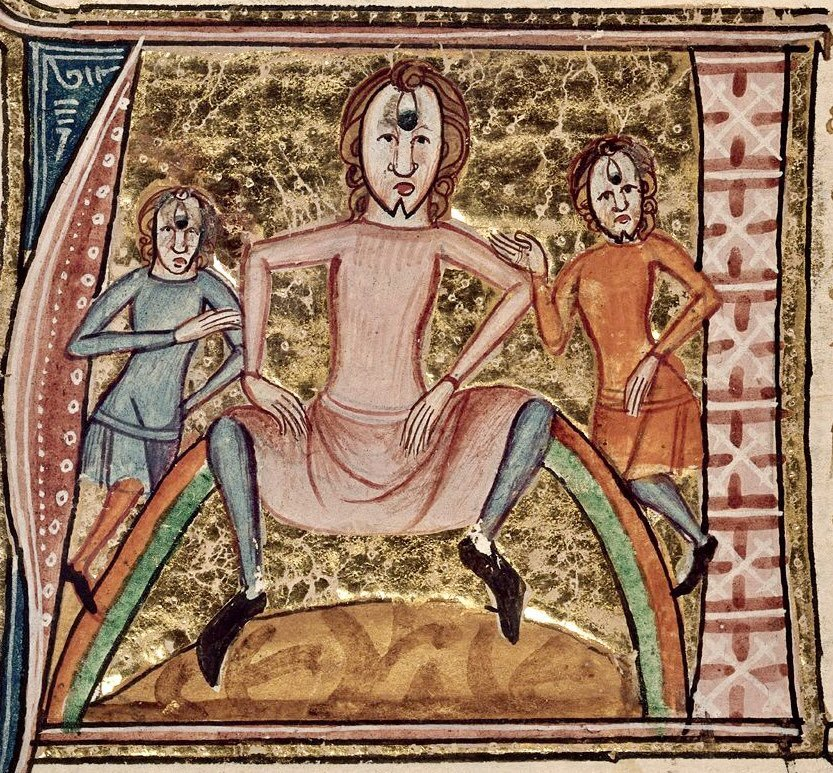 Средневековые картинки на новый лад