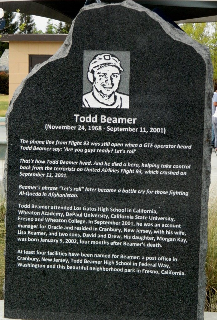 """""""You guys ready? Let's roll!""""  - Todd Beamer <br>http://pic.twitter.com/zq7IqYUMGf"""