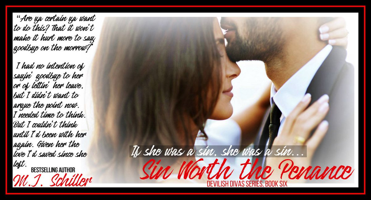 """""""Are ya certain ya want to do this? That it won't make it hurt more to say goodbye on the morrow?""""  I had no intention of sayin' goodbye to her or of lettin' her leave. But I couldn't think until I'd been with her again. Given her the love I'd saved since she left. #1linewed <br>http://pic.twitter.com/hjUWfIJRKv"""