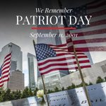 Image for the Tweet beginning: We will never forget September