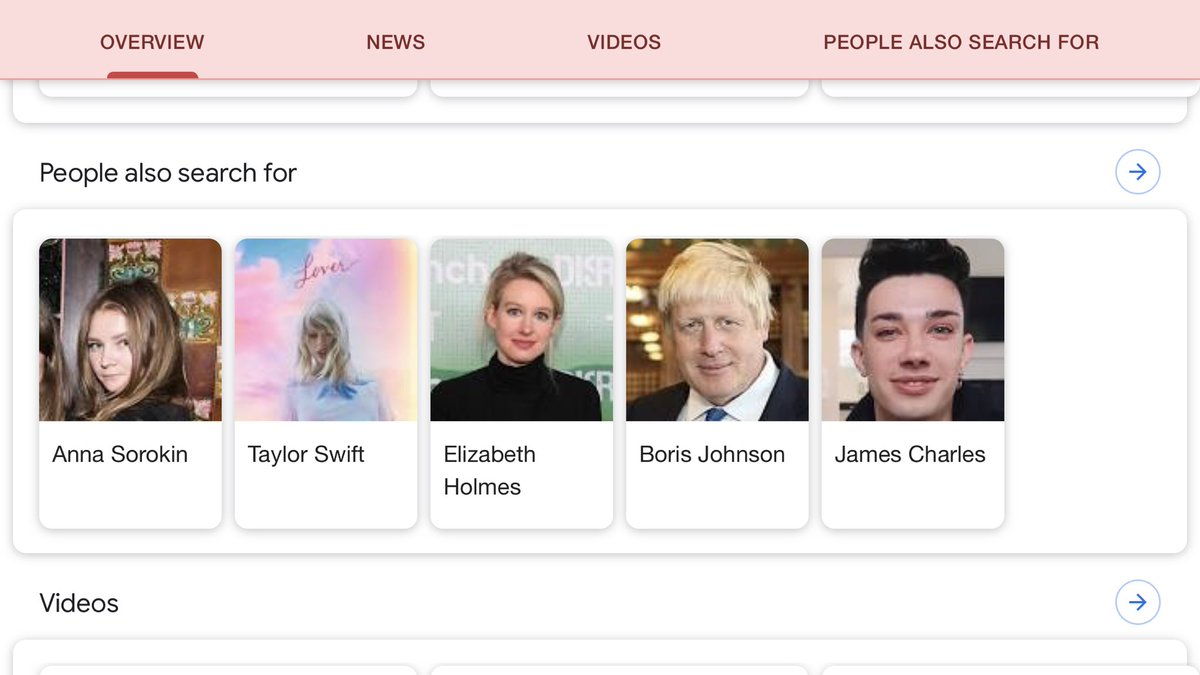 """this """"people also search for"""" when you google caroline calloway is a ferocious burn to all parties involved"""