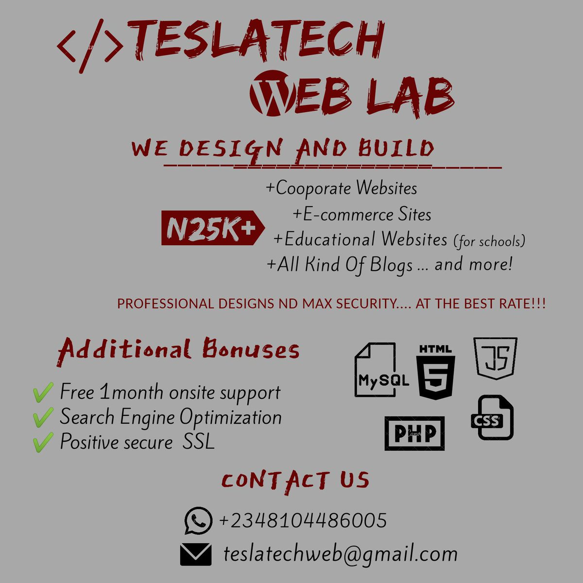 If Atiku wins today, I'll be creating a free website for two random people that retweets this. T&C applies sha.  #PEPTSAVENIGERIA <br>http://pic.twitter.com/l6fw9X0FSE