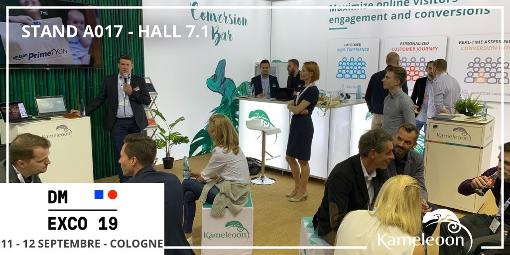 Thanks to @crtlf from @konversionsK for his presentation on the @KameleoonAI stand at @DMEXCO – here he is in action! #DMEXCO19 #Optimization<br>http://pic.twitter.com/ibe6tcUuOB