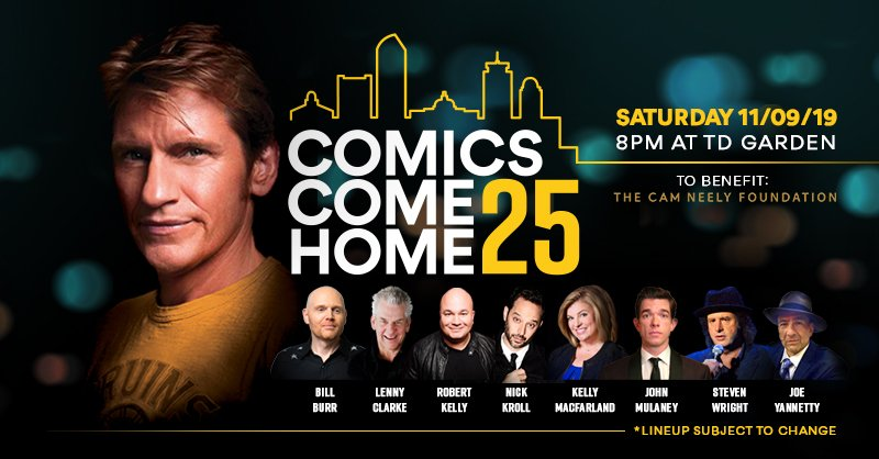 Today is the day. Tickets are NOW on sale to the general public for #COMICSCOMEHOME the 25th anniversary show! We hope to see you all there!! #CCH25 Get your seats here -> bit.ly/2lHTXVd