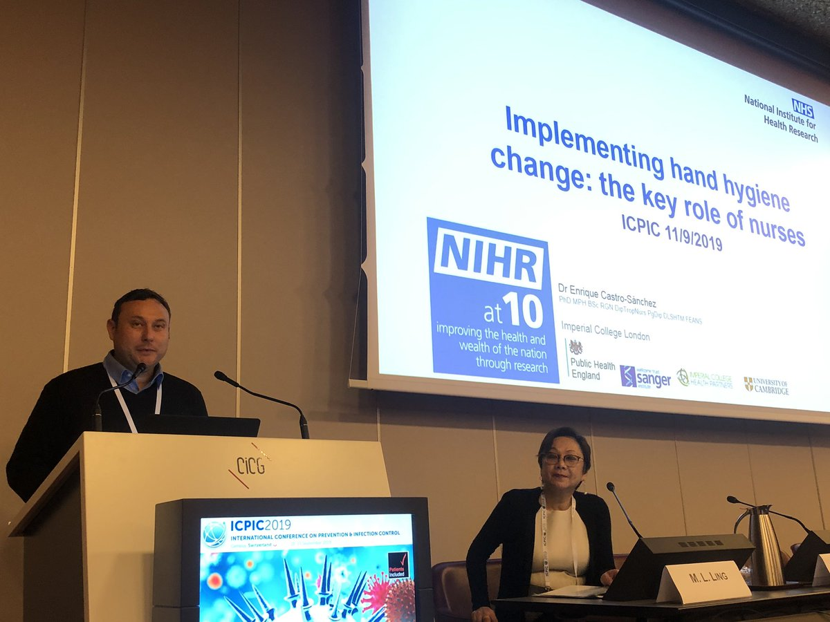 The role of nursing in IPC is essential in all institution Dr. Enrique Castro #ICPIC2019 <br>http://pic.twitter.com/iW6TATzoaq