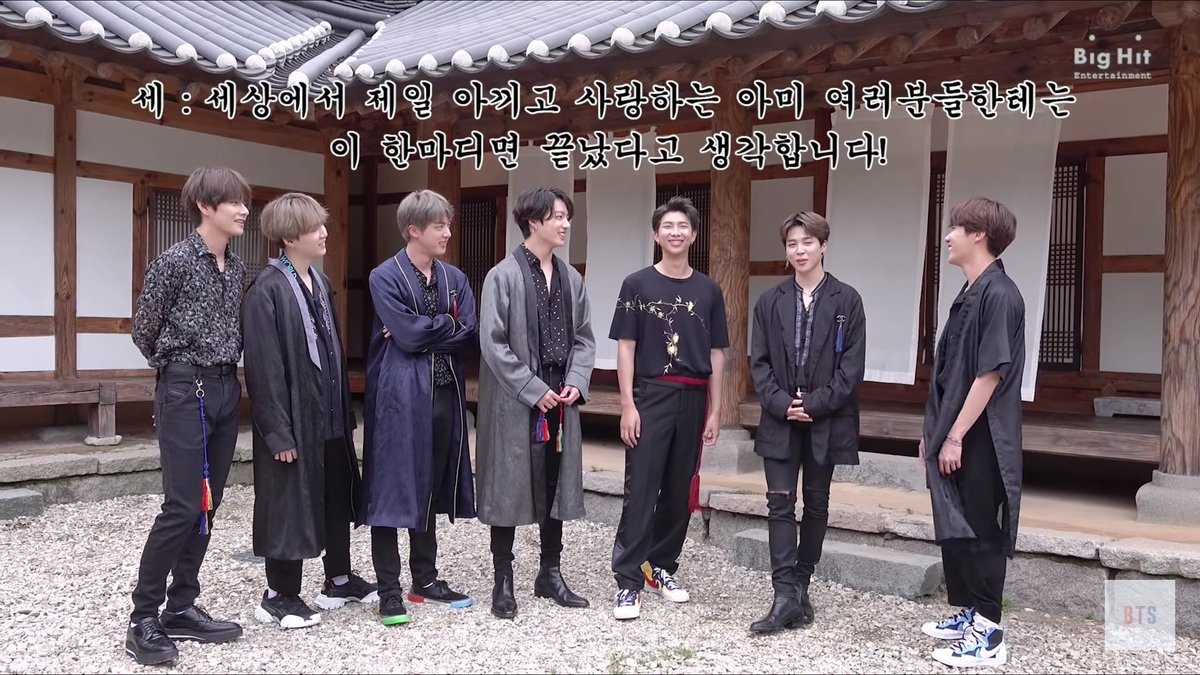 Ahhh handsome Bangtan in their #BTS5THMUSTER outfits. I love them in these shirts. They look so good in these clothes! Kookie and ChimChim are wearing similar boots. @BTS_twt #BTShappyChuseok2019<br>http://pic.twitter.com/UIFgjKXeCd