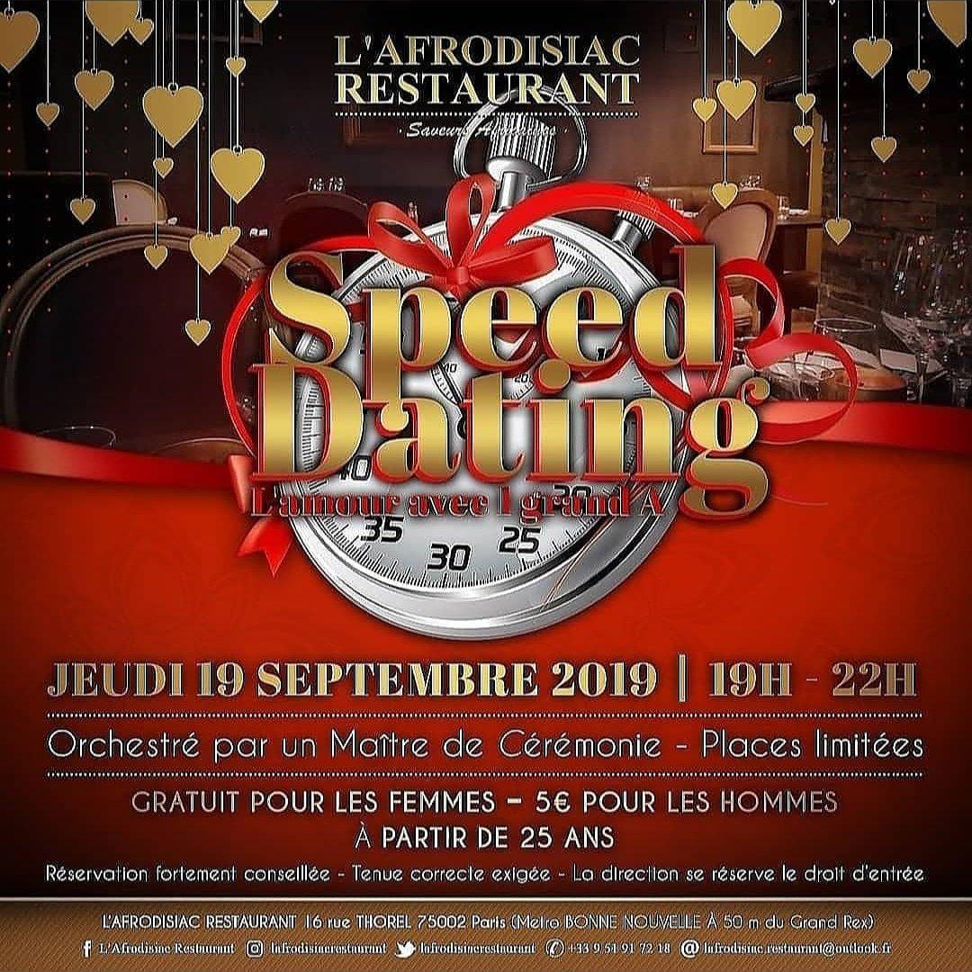 soirée speed dating paris jeudi