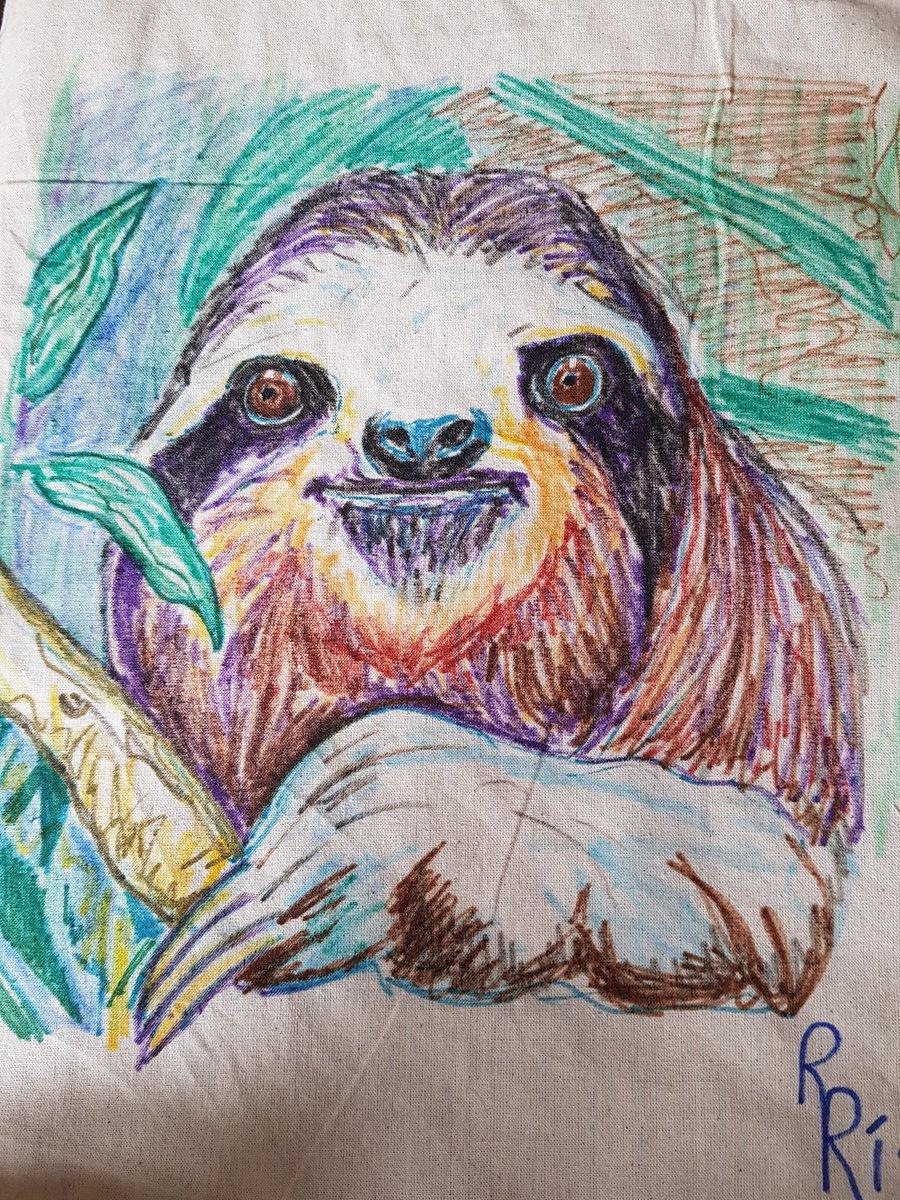 Sloth bag done ❤❤
