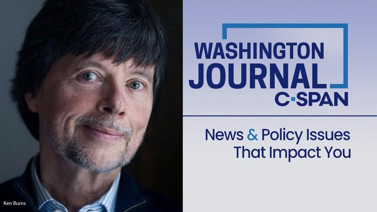 FRI| @pbs documentary filmmaker @kenburns discusses his latest film 'Country Music' Live at 9am!