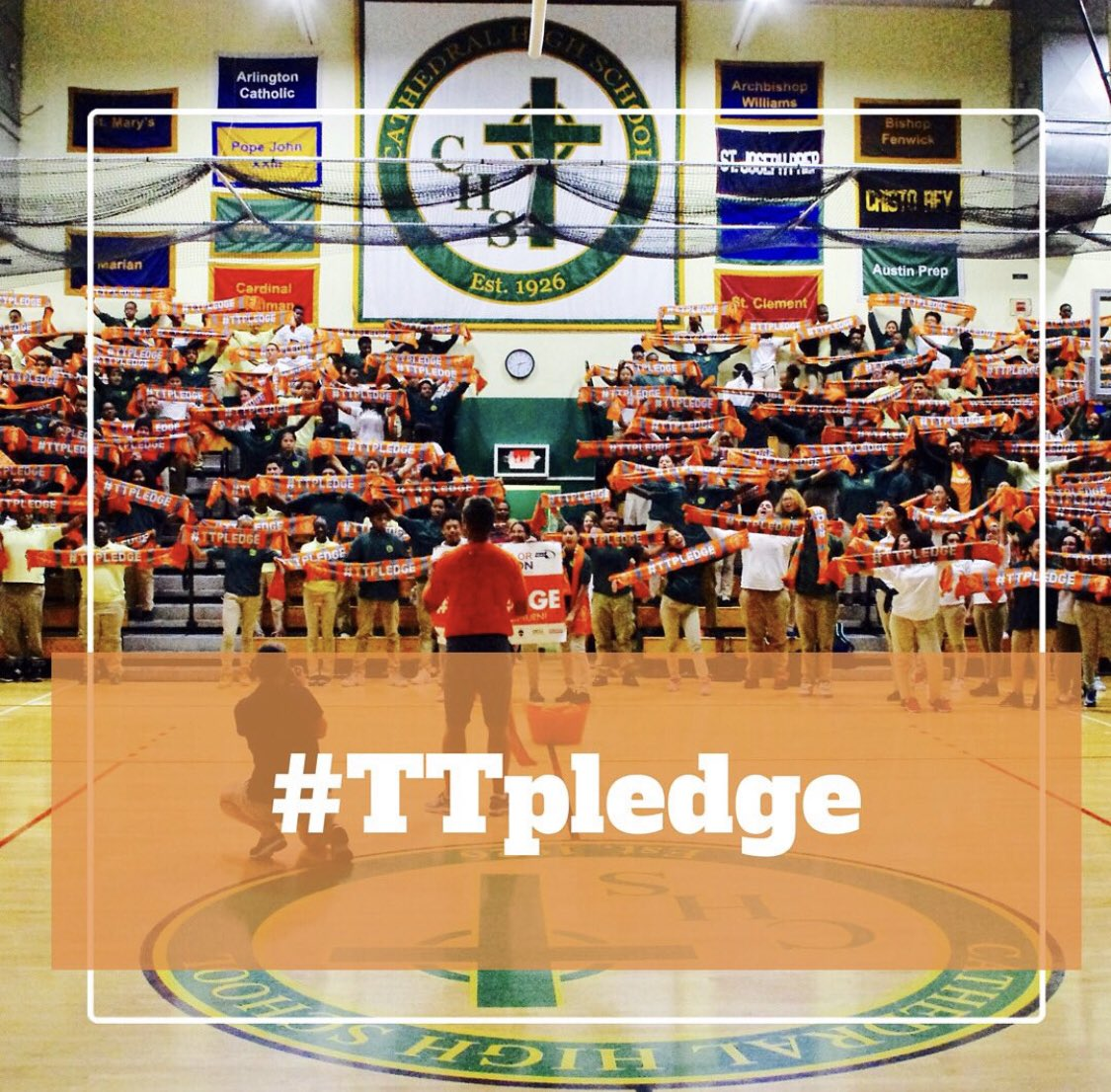 test Twitter Media - Ask your @MIAA033 #AthleticDirector to make sure your school takes the #TTpledge this week! Get creative! Wear orange! And create an educated, honest and supportive community at your school! 🧡🧠🙌🏼 https://t.co/h0bijCD62s