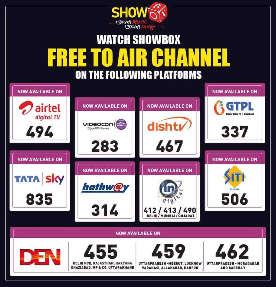Poonam Chauhan On Twitter Watch Showbox Free To Air Music Tv Channel For Unlimited Music And Musical Entertainment Shows It is regarded as one of the best free android apps as it allows users to. twitter