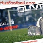 Image for the Tweet beginning: Notre partenaire @VirtusFootball vient de