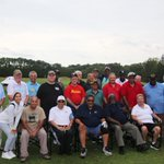 Image for the Tweet beginning: PGA HOPE fall session today