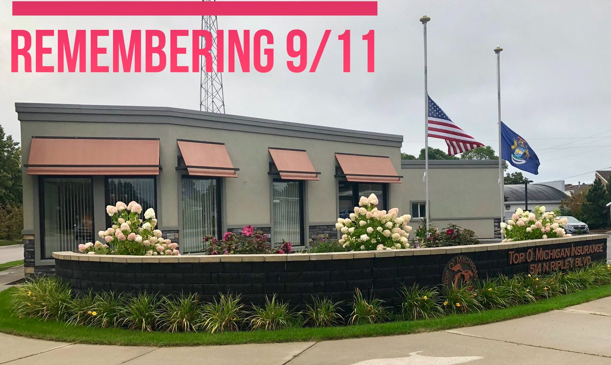 """Today we remember those lost 18 years ago. 🙏💙🇺🇸 """"Even the smallest act of service, the simplest act of kindness, is a way to honor those we lost, a way to reclaim that spirit of unity that followed 9/11."""" —President @BarackObamain a 2011 address. #September11 #remember https://t.co/oog8LqaEuF"""