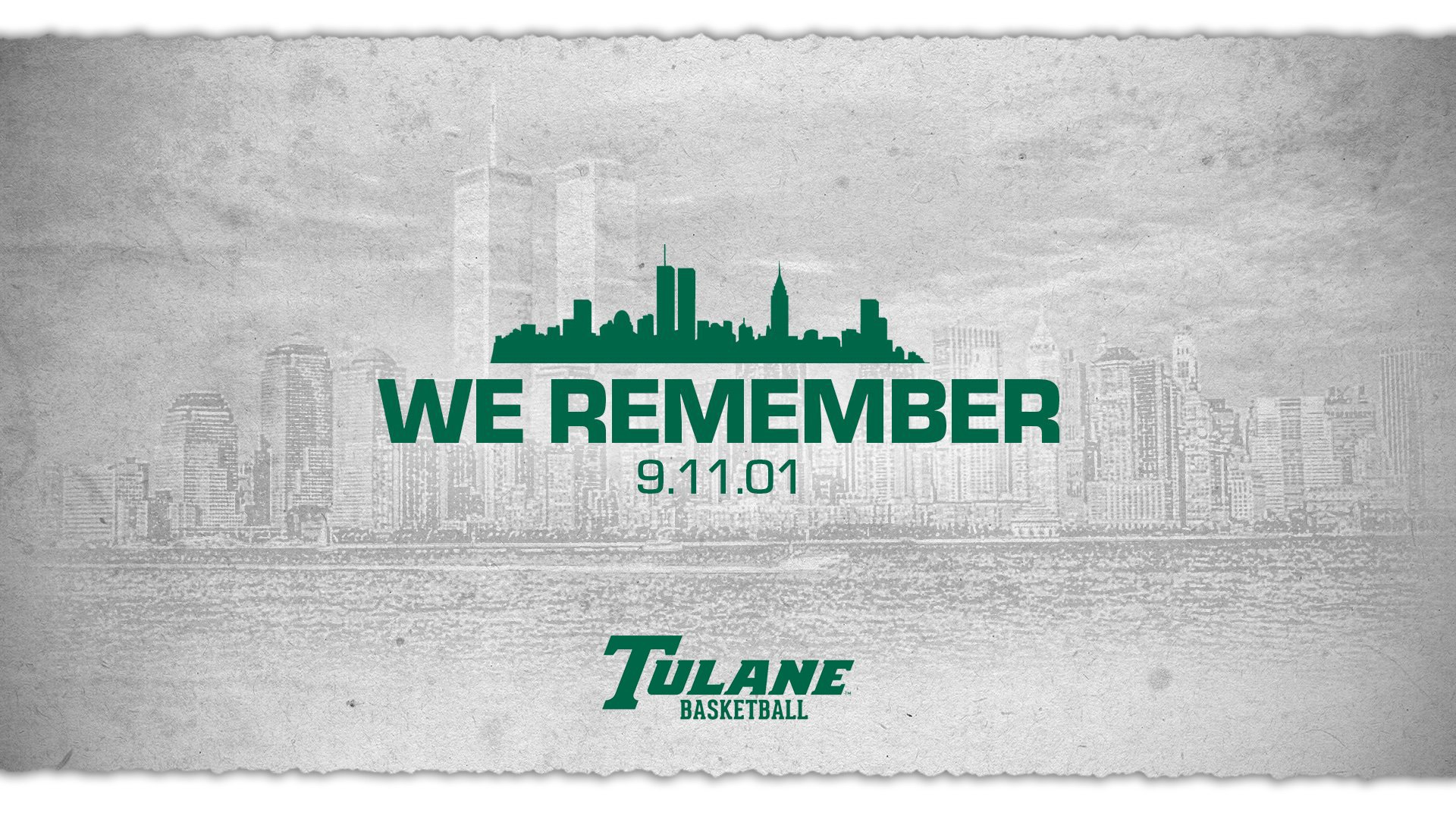 Tulane Green Wave NCAA Basketball: #NeverForget the tragedy and let us all remember the unity that followed ��.  Tweet...