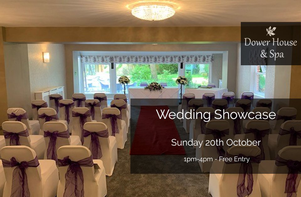 Hope you can join us on Sunday 20th October 1pm-4pm #WeddingShowcase https://t.co/YWT9pLf6Jq