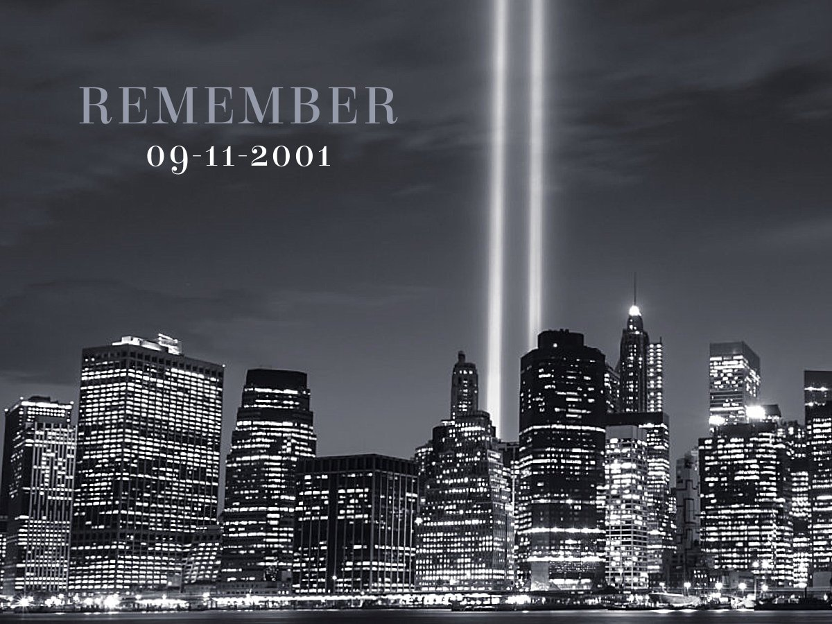 In loving memory of those who lost their lives on #Sept11. Never forget. <br>http://pic.twitter.com/hUqbk3XX07
