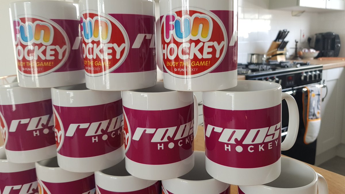 Fun Hockey mugs handed out as prizes at their recent summer camps. A great idea. Sponsor @Roos_Hockey also added in.   #nimugco #northernirelandmugcompany #sublimatedmugs #sublimugs #personalisedmugs #personalisedwaterbottles #keepitlocal #funhockey #rooshockey