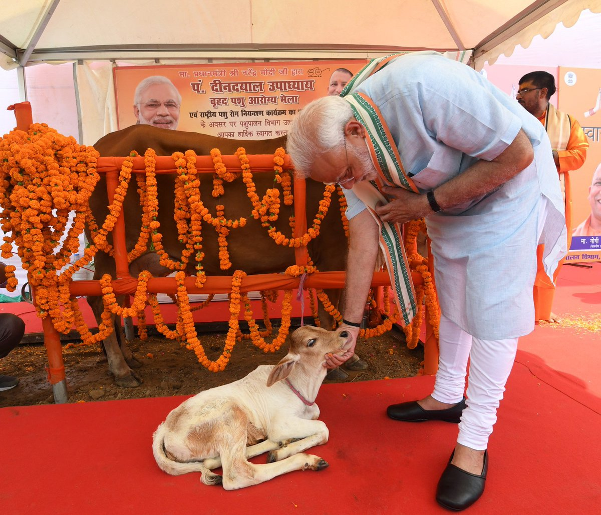 PM launches National Animal Disease Control Programme and National Artificial Insemination Programme